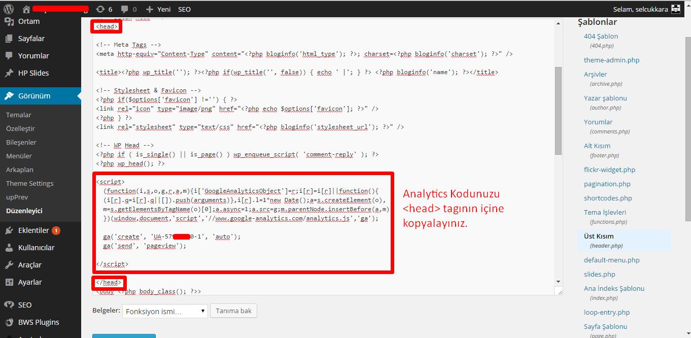 Google-Analytics-Kodu-Ekleme-8