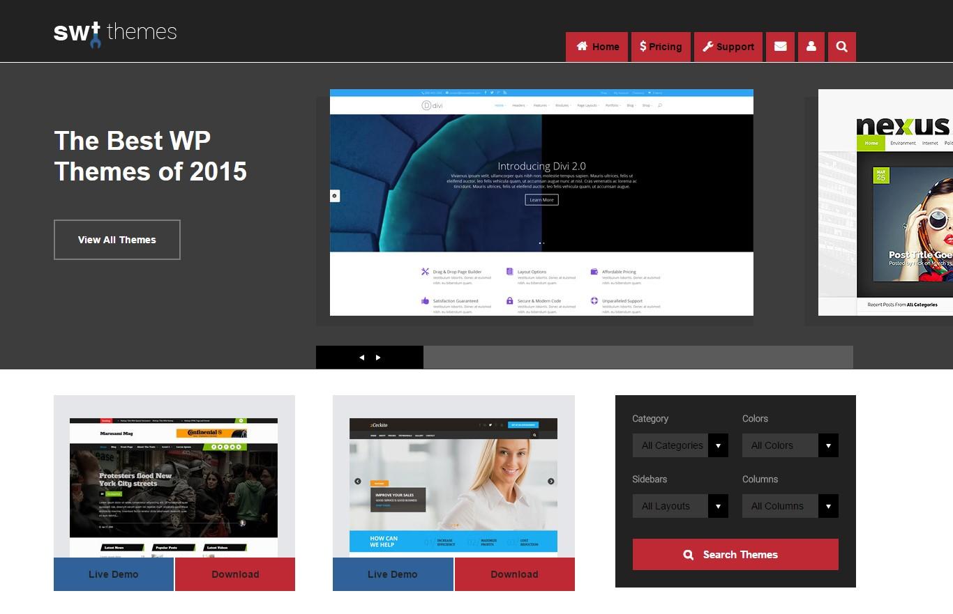 Ücretsiz WordPress Temaları - 5