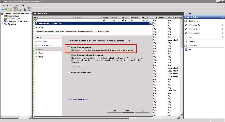 Windows Erişim Port Ayarları