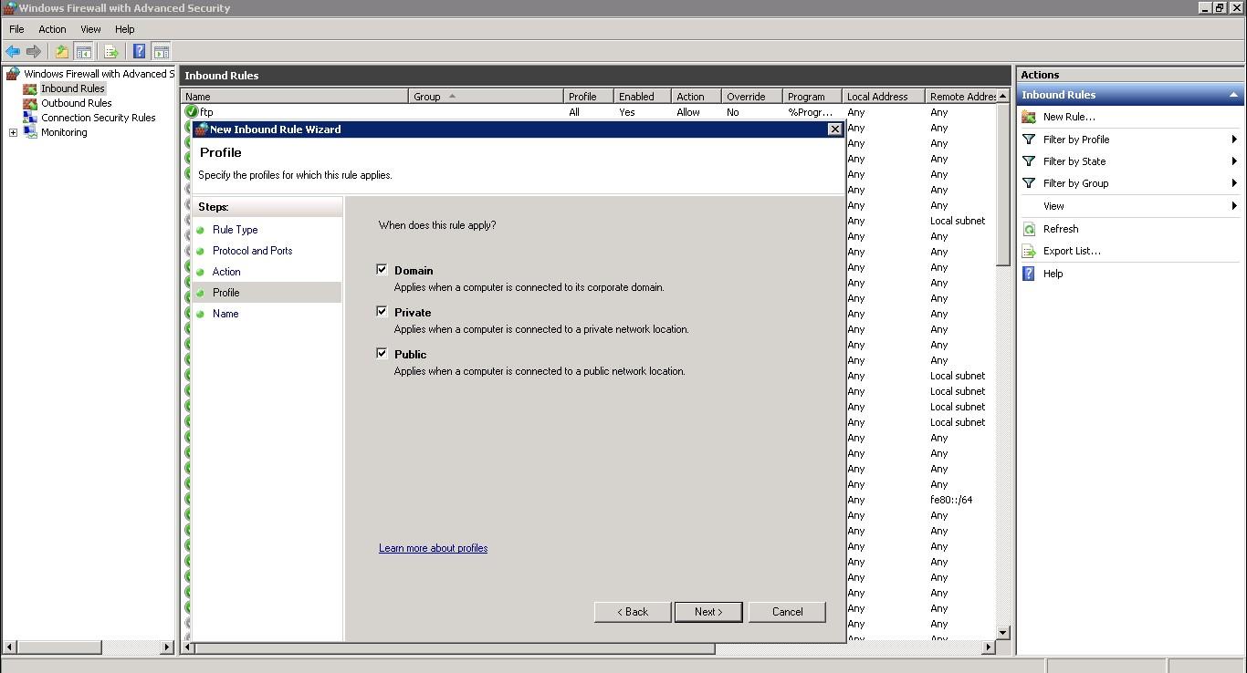Windows Sunucuda Erişim Port Değişimi