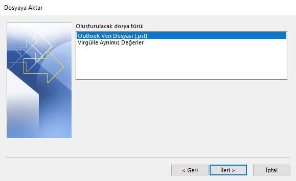 Outlook Veri Dosyası
