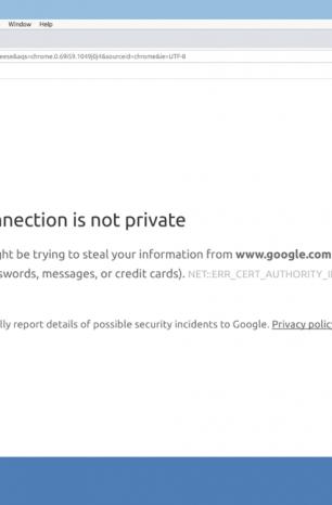 Chrome'da Bağlantınız Gizli Değil Hatası ve Çözümü